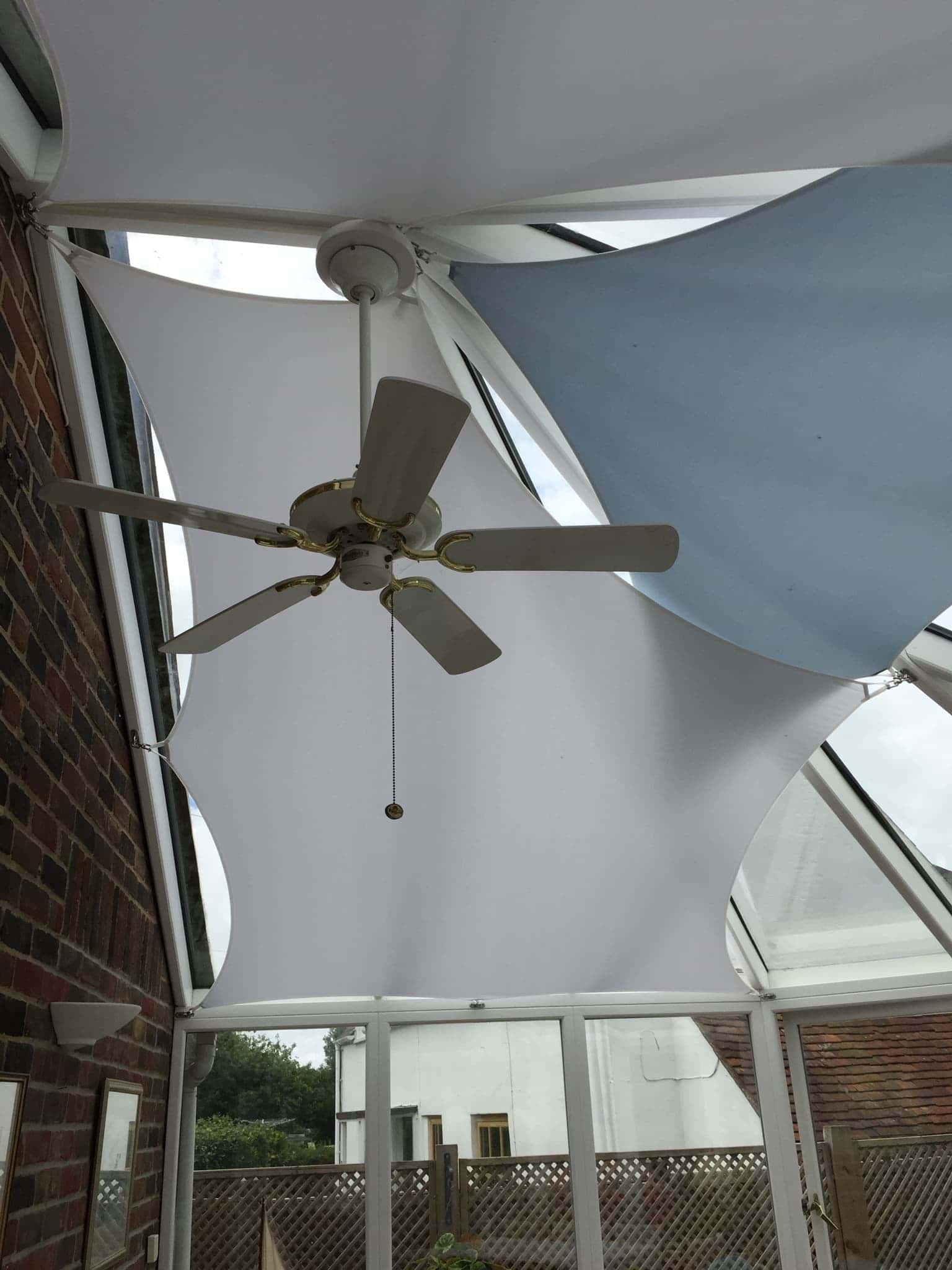Conservatory Sail Blinds In Worthing West Sussex Direct Blinds