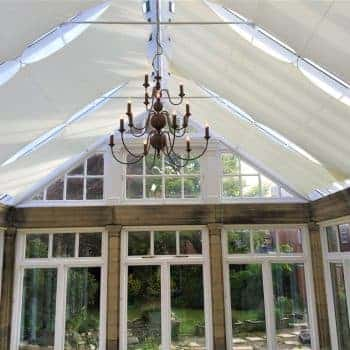 conservatory Sail Blinds
