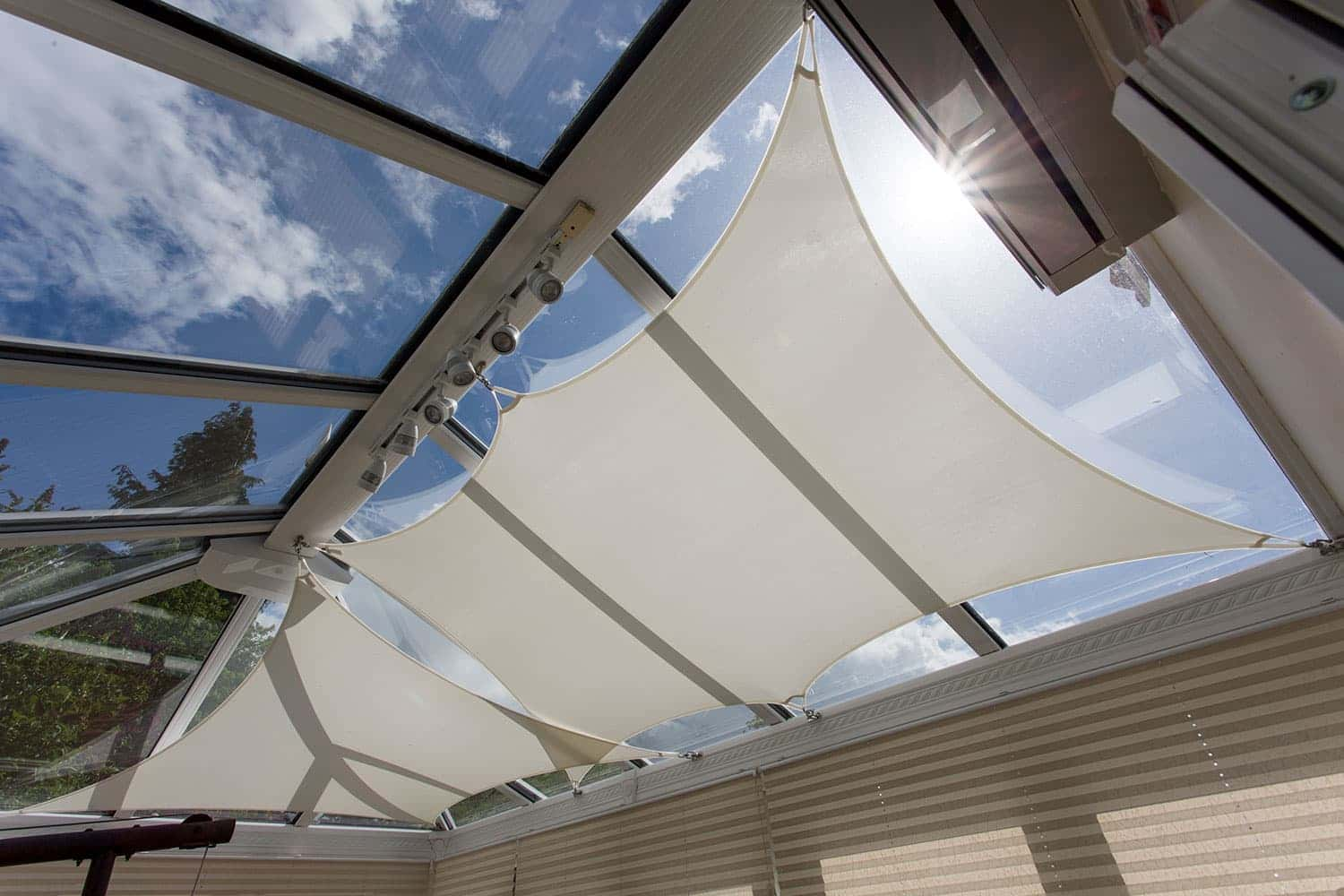 Conservatory Sails Conservatory Sail Blinds Inshade